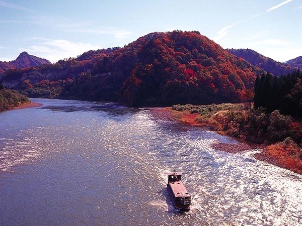 阿賀野川周遊船